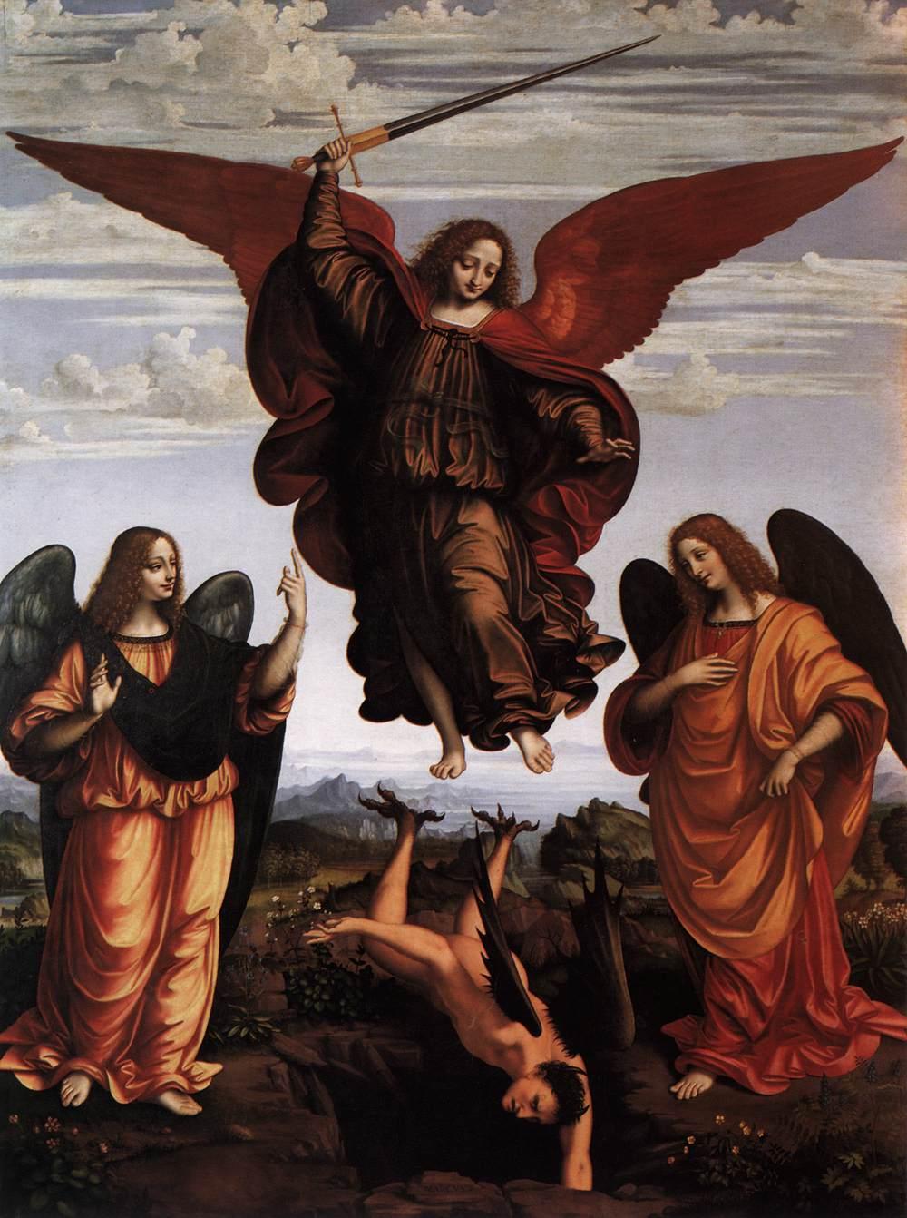 Saints Michael, Gabriel & Raphael, archangels