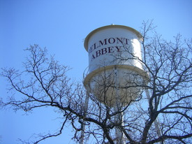 Belmont Abbey water tower.JPG