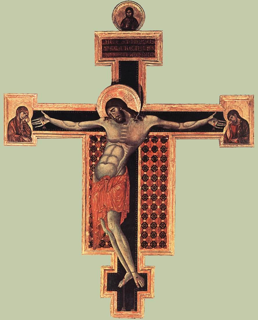 http://communio.stblogs.org/Cimabue%20S%20Domenico%20Crucifix%20Arezzo ... Chagall Crucifixion