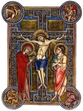 Crucifixion Weingarten Missal 13thc.jpg