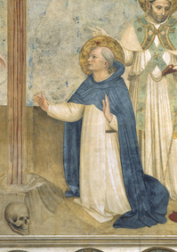 Thumbnail image for Fra Angelico St Dominic Detail of Crucifixion.jpg
