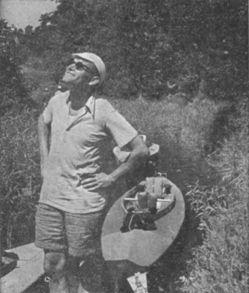 Karol Wojtyla with a canoe.jpg