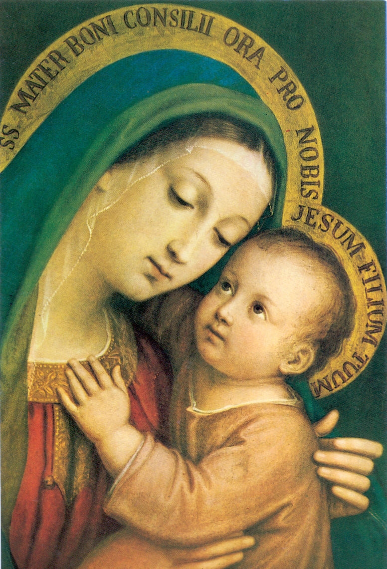 Blessed Mother Mary And Jesus Communio: Bless...