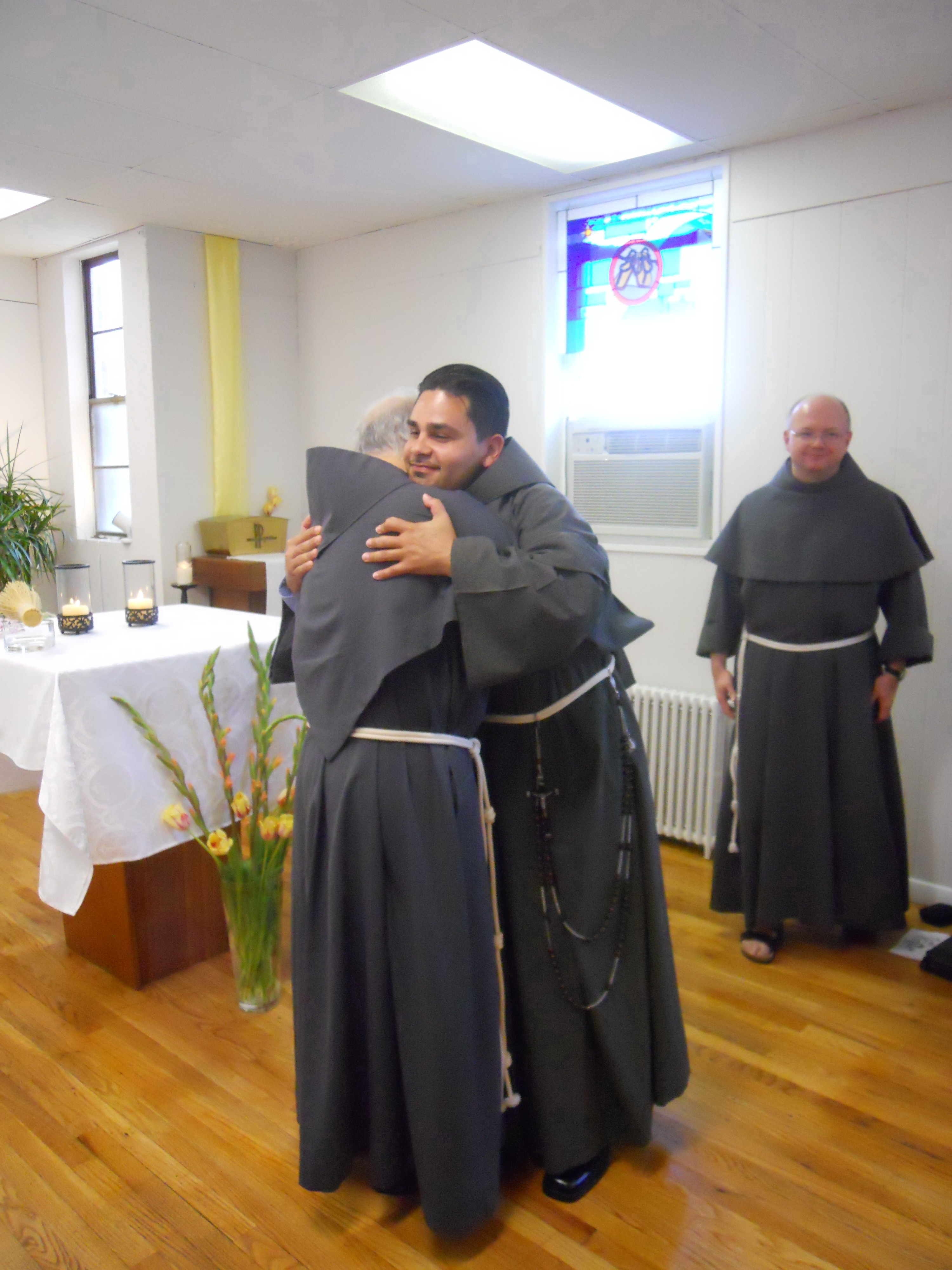 Gabriel robert scasino takes the franciscan conventual for The franciscan