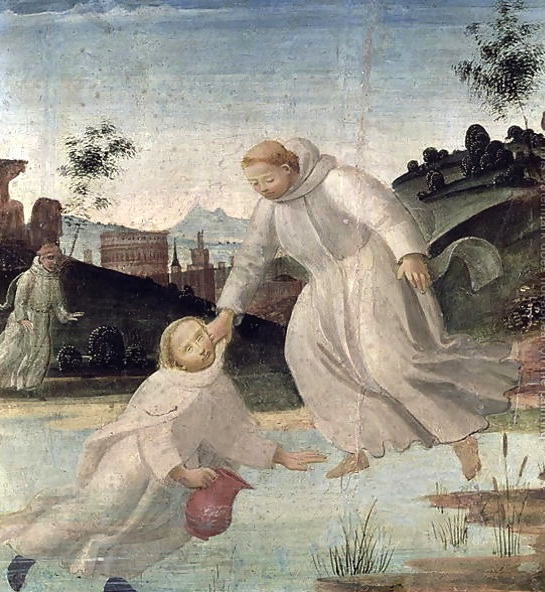 Image result for saint maurus miracles