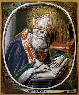 St Ambrose writing.jpg