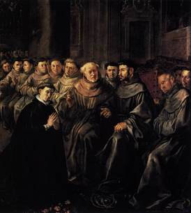 St Bonaventure enters OFM FHerrera the elder.jpg