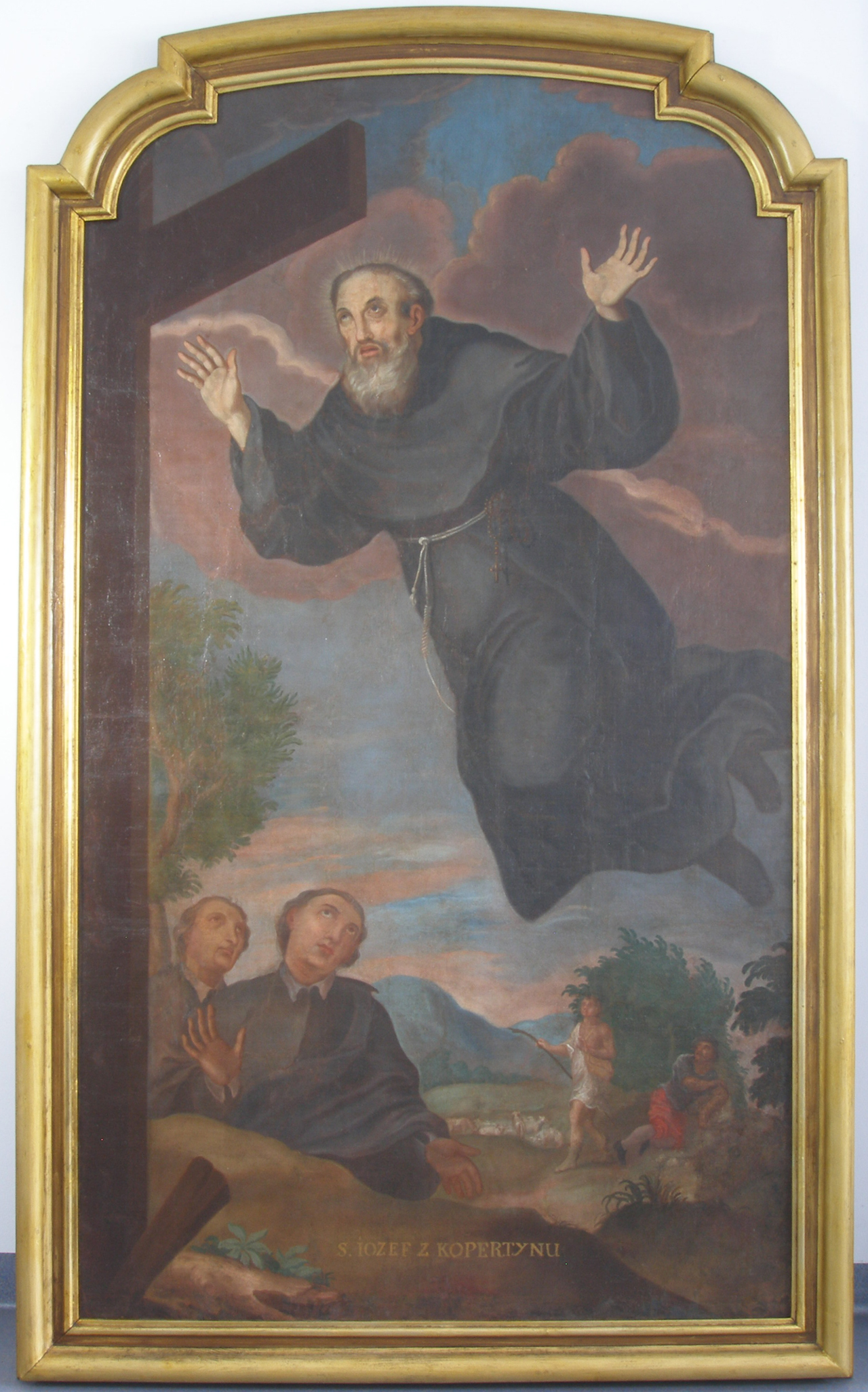 st joseph of cupertino Saint joseph of cupertino was born giuseppe maria desa in cupertino, apulia he was said to be prone to miraculous levitation and intense ecstatic visions he is recognized as the patron saint of air travelers, aviators, astronauts, people with a mental handicap, test takers, and weak students.
