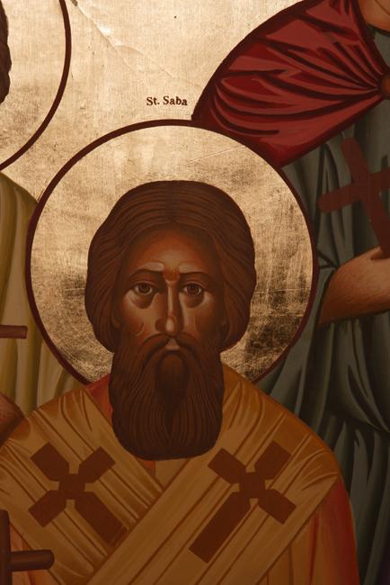 Saint Saba, abbot - Communio