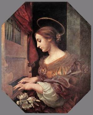 St Cecilia at organ.jpg