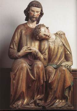 St resting on Jesus' Chest.jpg