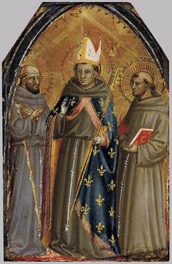 Sts Francis Louis of Toulouse Anthony LdiBicci.jpg