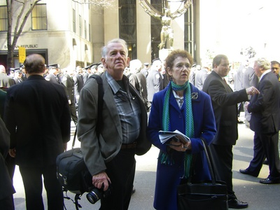 Chris Sheridan & Claudia McDonald Catholic NY St Patrick's Day 2010.jpg