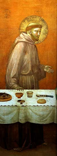 St Francis at table detail.jpg