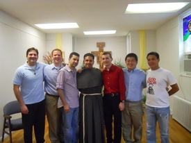 Gabriel Scasino & postulants May 8 2010.jpg