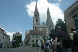 Chartres pilgrimage 2009.jpg