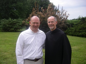 PAZ with Br Andre of Marmion August 18 2010.jpg