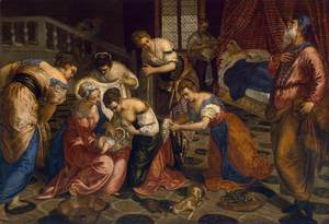 Birth of John the Baptist, TINTORETTO,jpg.jpg