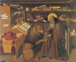 St Jerome and lion.jpg