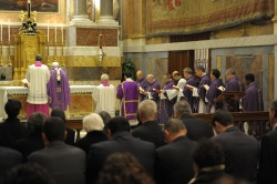 Pope celebrates Mass for Manuela Camagni.JPG