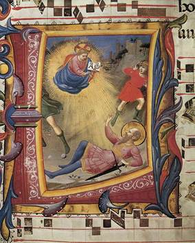 Conv of St Paul Fra Angelico c 1430 Missal 558.jpg