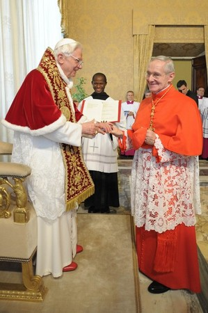 Cardinal Jean-Louis Tauran of France proto deacon of the College of Cardinals Feb 21 2011.jpg