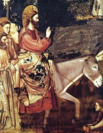 Jesus enters Jerusalem Giotto.jpg