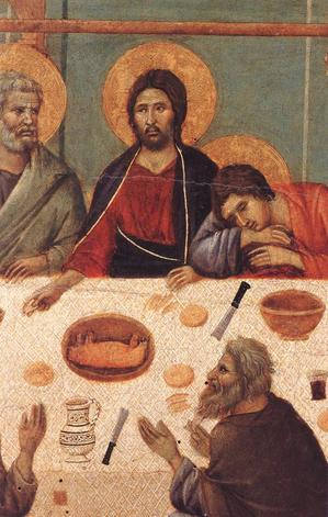 Last supper detail Duccio.jpg