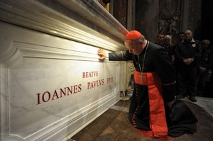 Bllessed John Paul final burial spot.jpg