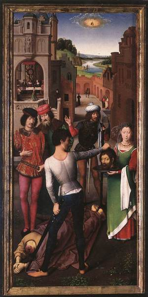 Beheading of St John the Baptist HMemling.jpg