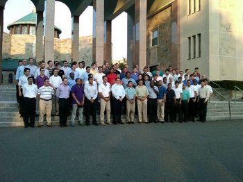NY undergrad seminarians at Douglaston 2011.jpg