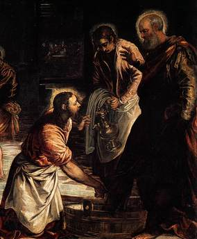 Christ washing the feet Tintoretto.jpg