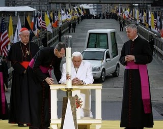 Pope Benedict XVI at Ground Zero in New York.jpg