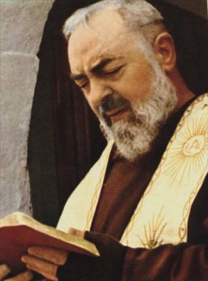 St Padre Pio with book.jpg
