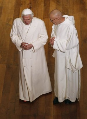 Pope and Carthusian Prior 2011.jpg