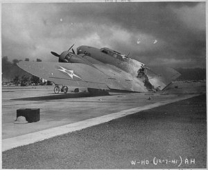 B17 destroyed -REUTERS:Official U.S. Navy Photograph, National Archives collection.JPG