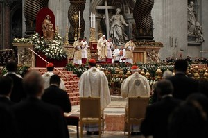 New cards at Mass with B16 2012.jpg