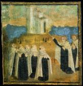 Carmelites in prayer minature.JPG