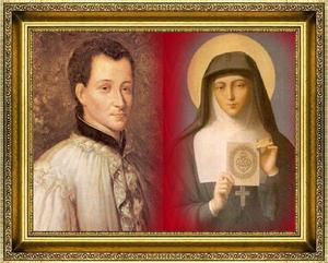 Claude de la Colombiere, S.J and  St. Margaret Mary.jpg