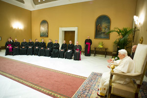 Pope with FSCB 6 Feb 2013.jpg