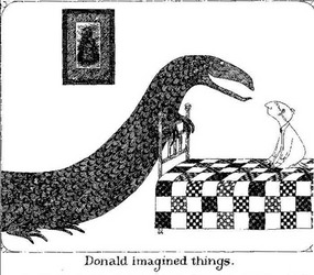 gorey Donald imagined things.jpg