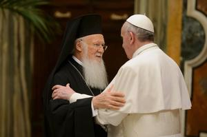 Francis and Bartholomew March 20 2013.jpg