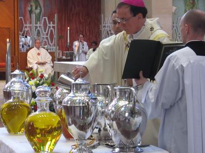 The Blessing of Oils | Catholic News Live