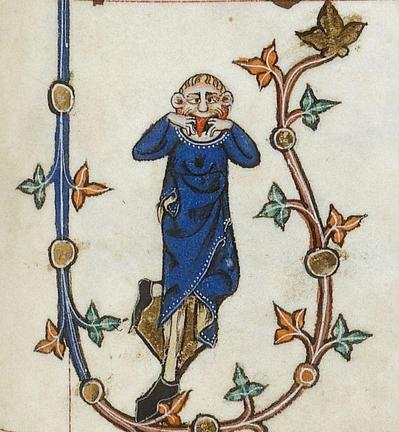 April fools Gorleston Psalter, England 14th century (British Library, Additional 49622, fol. 123r).jpg