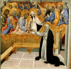 Catherine of Siena receives ring from Christ.jpg