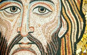 detail mosaic of Christ.jpg