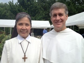 Sr Rita and Fr Peter John