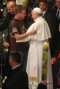 Pope Francis at Hospital