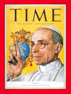 Pius XII on Time cover