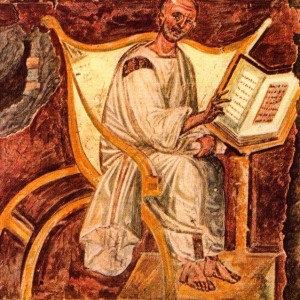 St Augustine reading